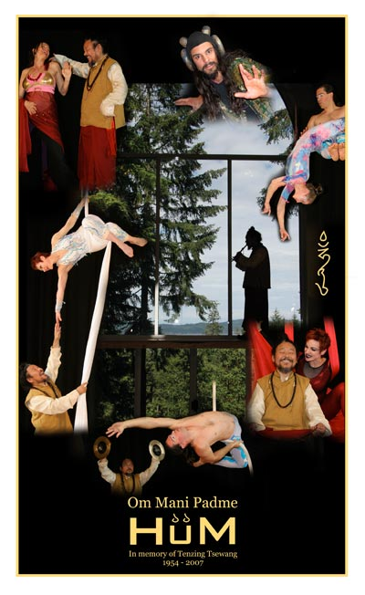 HüM - Theatre Production Aerial Circus Entertainment in British Columbia