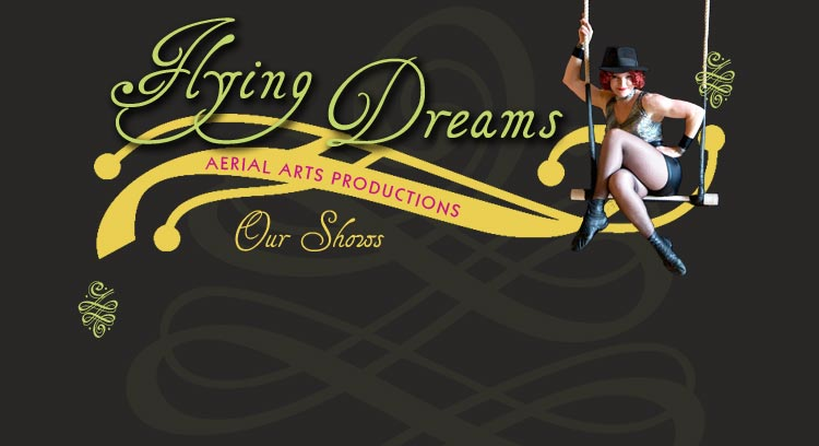 Flying Dreams is a contemporary aerial arts production company creating innovative corporate and theatrical events